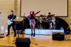 L'esibizione dei Cubirossi allo Young Rock