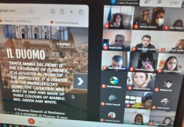 LA videoconferenza tra gli studenti di Lastra a Signa e del Centro giovanile armeno