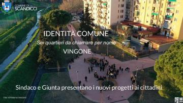 La prima pagina delle schede per l'assemblea di Vingone