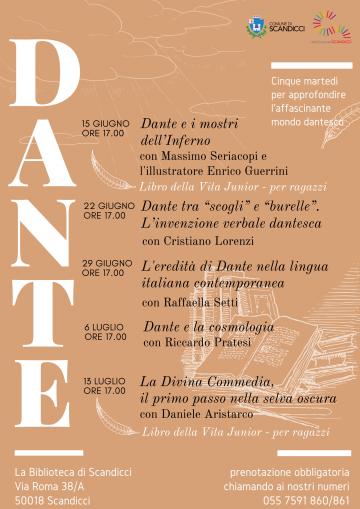 La locandina di Dante 700