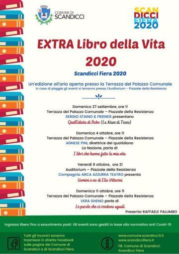 La locandina dell'Extra Libro della Vita 2020
