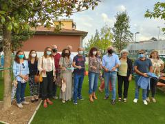 Inaugurazione giardino Turziani