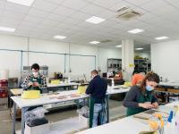 Un corso dell'Alta Scuola di Pelletteria Italiana