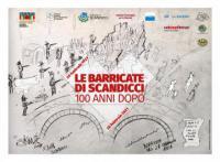 La locandina del centesimo anniversario delle Barricate di Scandicci