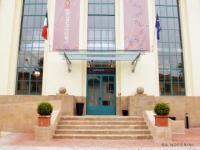 L'ingresso della Biblioteca di Scandicci