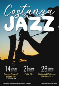 La locandina di Costanza in jazz