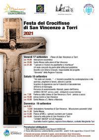 La locandina della Festa del Crocifisso