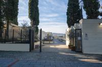 L'ingresso del cimitero di Sant'Antonio