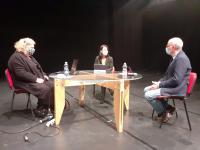 La video conferenza stampa di presentazione dell'accordo di residenza con Il Teatro delle Donne