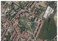 Foto aerea del parco Ilaria Alpi