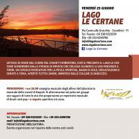 L'evento di Itinera al lago Le Certane