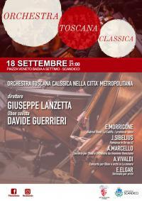 La locandina del concerto dell'Orchestra Toscana Classica