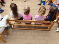 Bambini in un servizio all'infanzia