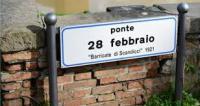 L'insegna del Ponte 28 febbraio