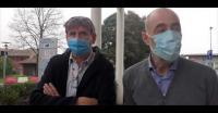 Un frame del video sulla situazione sanitaria a Torregalli