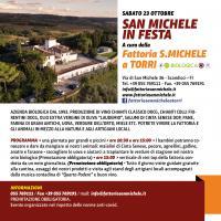 La locandina di San Michele in Festa