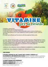 La locandina di Vitamine per la Scuola 2021